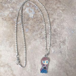 Anna from frozen pendant necklace