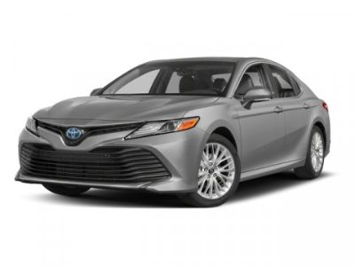 2018 Toyota Camry Hybrid XLE (Midnight Black Metallic)