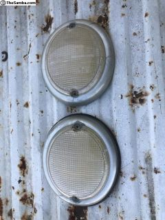 Bus front turn signals fried eggs 62-67