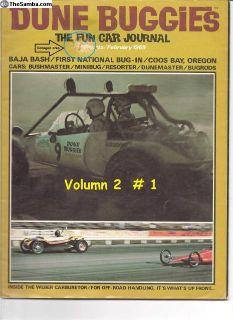 Dune Buggies Mag Vol 2 # 1