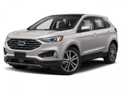 2019 Ford Edge SEL (White Platinum Clearcoat Metallic)