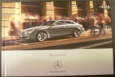 Purchase 2007 Mercedes-Benz CLS Class Hard Cover Prestige Sales Brochure UK Edition Rare! motorcycle in Holts Summit, Missouri, United States, for US $44.98