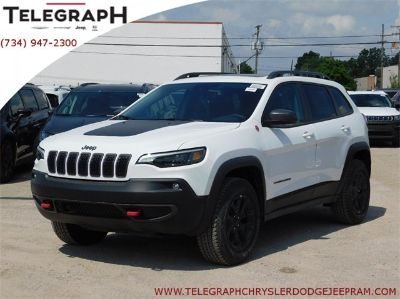 2019 Jeep Cherokee trailhawk (Bright White Clearcoat)