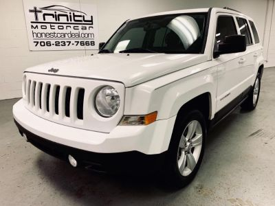 2013 Jeep Patriot Latitude (White)