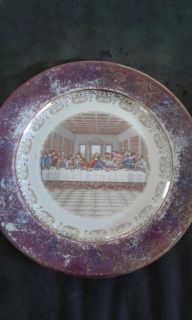 1950 Last Supper Plate