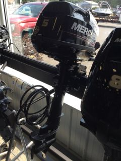 2017 Mercury Marine 5MH 4-Stroke Outboard Motors Gaylord, MI
