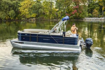 2018 Crest I Fish 200 SF Pontoons Boats Edgerton, WI