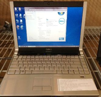 "Dell XPS m1330 13.3"" widescreen laptop, C2D, 4GB RAM, 150GB HDD, DVD-RW, w7 Pro 32bit"