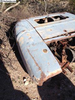 58 rear body piece