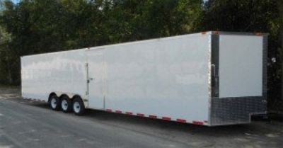 34' Two Vehicle Transport Trailer