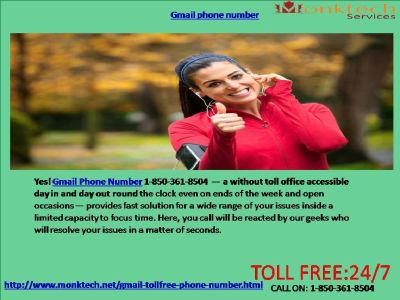 Does Gmail phone Number Give Speedy Help 1-850-361-8504?