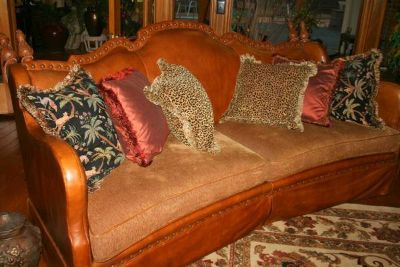 Designer Throw Pillows for Couch or Chair