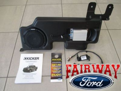"Sell 15 thru 16 F-150 OEM Ford Kicker Audio 8"" Sub Speaker & 100w Amp Upgrade Kit NEW motorcycle in Canfield, Ohio, United States, for US $609.95"