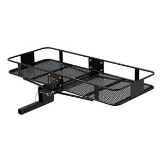 "Buy 2"" Trailer Receiver Tow hitch Folding Cargo Luggage Carrier Basket 60 x 24 x 6 motorcycle in Grand Prairie, Texas, US, for US $179.10"