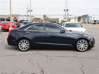 2016 Cadillac ATS Sedan 4dr Sdn 2.0L Luxury Collection (Blue)