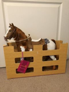 Our Generation large horse like new! Still has original box! For 18 dolls