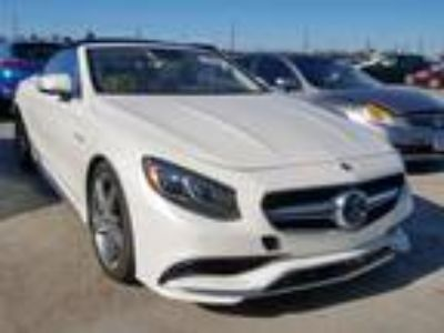 Salvage 2017 MERCEDES-BENZ S 63 AMG for Sale
