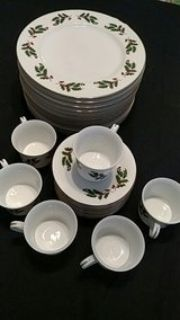 Vintage Made in Japan All the Trimmings porcelain set