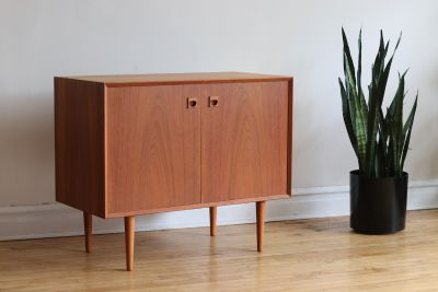 Mid Century Danish Modern Small Brouer Sideboard