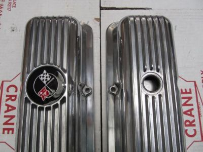 Purchase 69-77 Corvette Camaro NEW exact LT1 Z28 FINNED ALUMINUM VALVE COVERS 302 350 motorcycle in San Diego, California, United States, for US $249.00