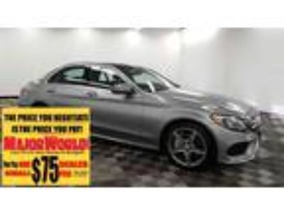 2016 MERCEDES-BENZ C-Class with 42641 miles!