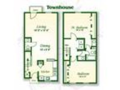 Crabtree Crossing Apartments and Townhomes - The Magnolia Townhouse