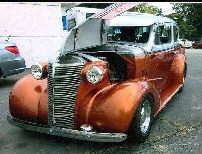 1938 Chevrolet Master Deluxe Sedan