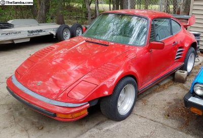 1980 911 SC Slantnose Project, Complete, All Steel