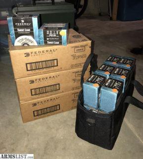 For Sale: 45 Boxes Federal Premium Top Gun Target Load - 12 Gauge - #8 Shot