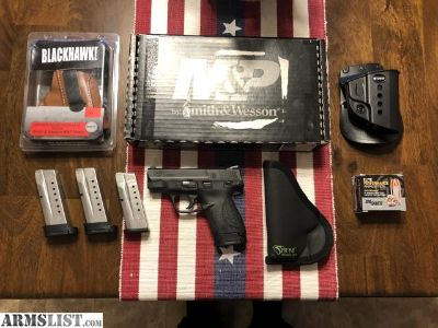 For Sale: Shield 9mm plus extras