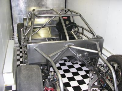 Streetable Stock Car Chassis w Fiberglass COT Impala Style B