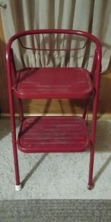 Foldable step stool chair 10.00