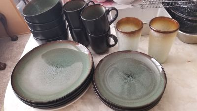 Set of 4 dishes
