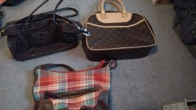 Purses all in excellent condition