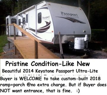 2014 Keystone Passport Elite Ultra Lite M-31 RE