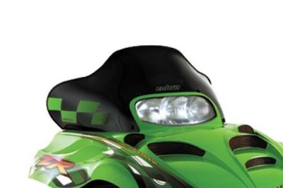 "Buy Powermadd Cobra Windshield 13.75"" Black/Green Checks 12320 motorcycle in Englewood, Colorado, United States, for US $104.95"