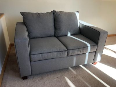 Loveseat, dining set or  mattress set for sale