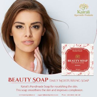 Regain the lost charm of your skin with Kairali's Handmade Beauty Soap
