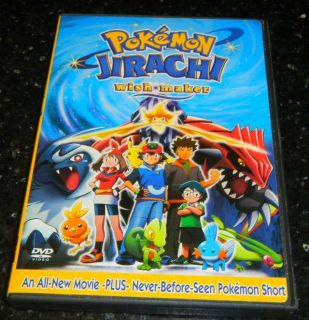 Pokemon Jirachi Wish Maker WishMaker DVD Movie + Pokemon Film Short