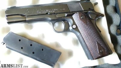 For Sale/Trade: Colt series 70 45acp