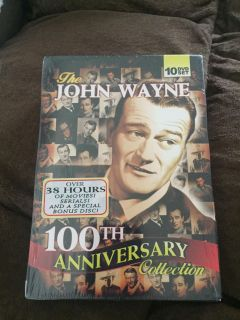 John Wayne 100th anniversary collection-10 DVD s-brand new