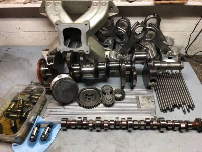 Mopar 440 bottom end plus more eagle, crane, indy