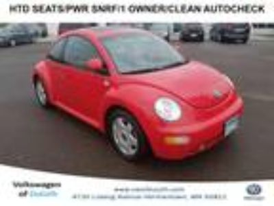 used 2000 Volkswagen New Beetle for sale.