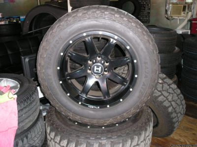 4 20 inch hostile WHEELS AND TIRES atlanta (with shipping available