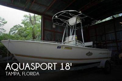 2001 Aquasport 175 Osprey