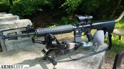 For Sale: AR-15 with ACOG clone