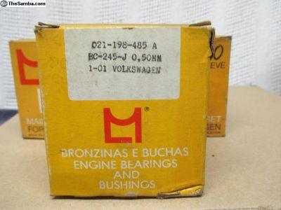 NOS Metal Leve Main Bearings IV > .020 Std Std