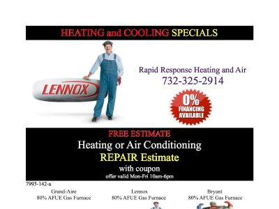 FREE EST - Affordable Heating Boiler and Gas Furnace Emergency Repair - 24/7 Same Day Service