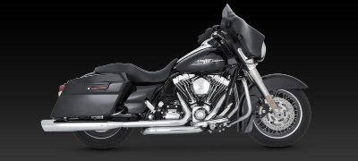 Purchase Vance & Hines Dresser Duals Headers Chrome 2009 Harley Davidson Touring motorcycle in Ashton, Illinois, US, for US $431.96