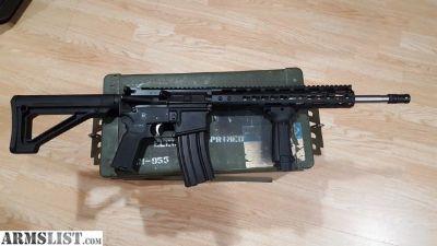 "For Sale: AR15 16"" SS barrel 1-8 twist"
